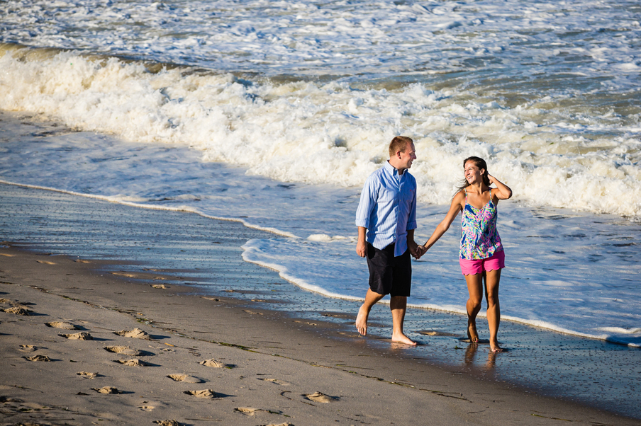 Point Pleasant Beach Engagement Session-01