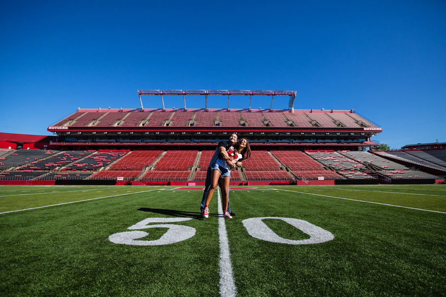 Rutgers Engagement Session-01